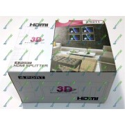 HDMI Split 1x4 Full 3D 4port HDMI V1.4 + Блок питания 5 V